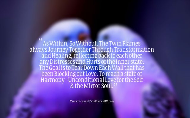 Twin Flame Testing Each Other