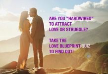 love blueprint quiz